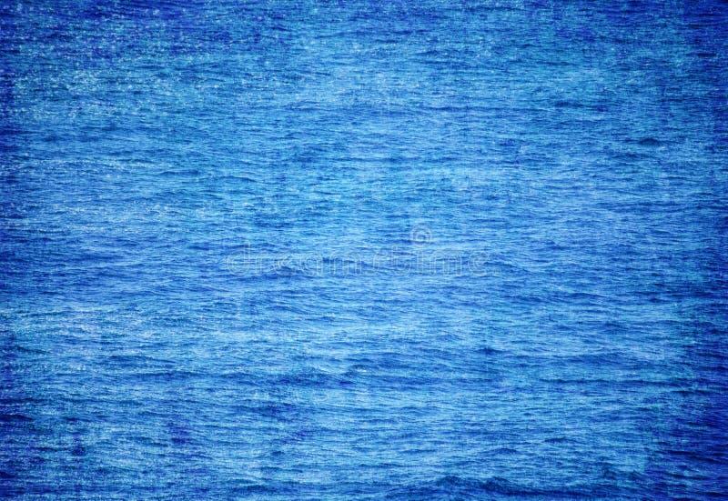 Wody morskiej powierzchni wzoru tekstury tło zdjęcia stock