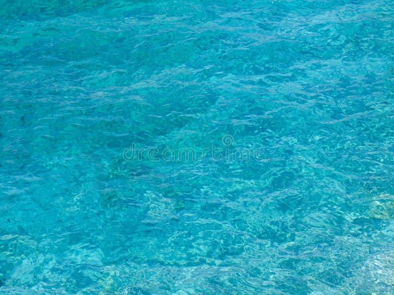 Wody morskiej tło obraz royalty free