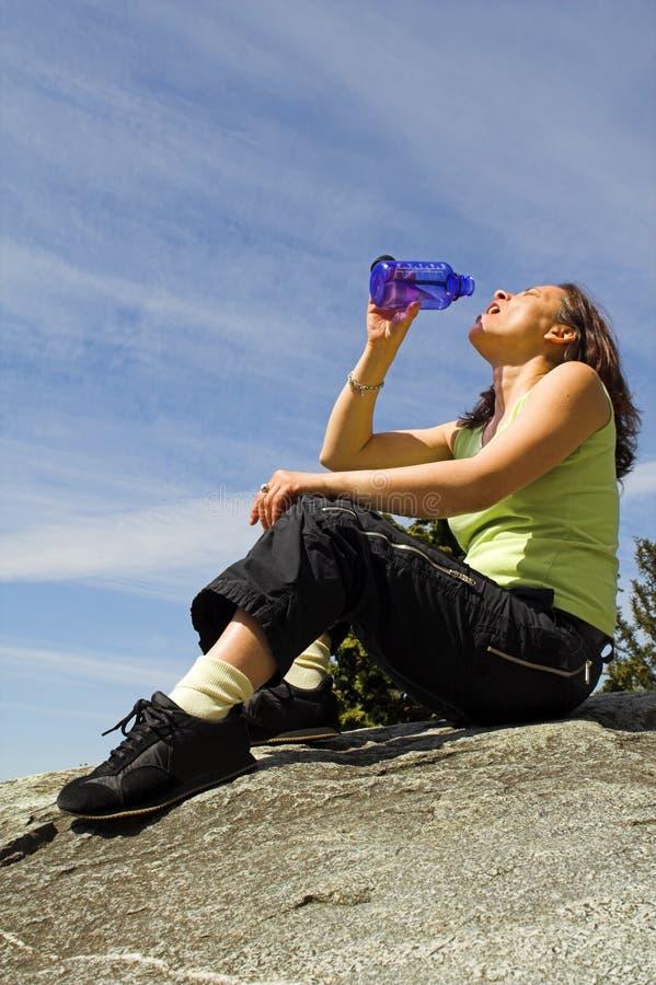 wody pitnej zdjęcie stock