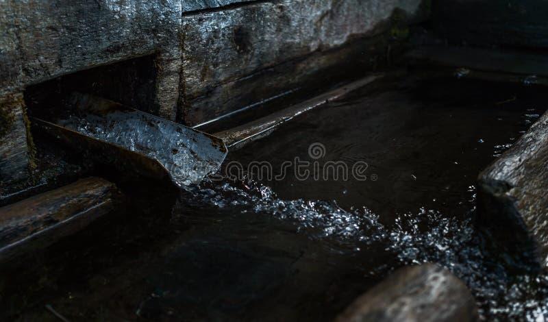 wody pitnej Wioski well obraz stock