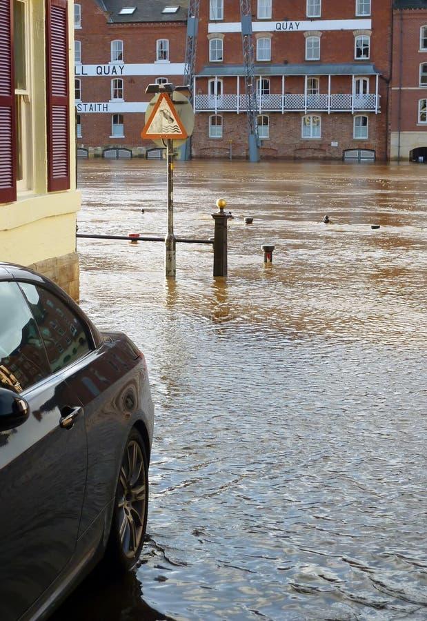 wody powodziowe obraz stock