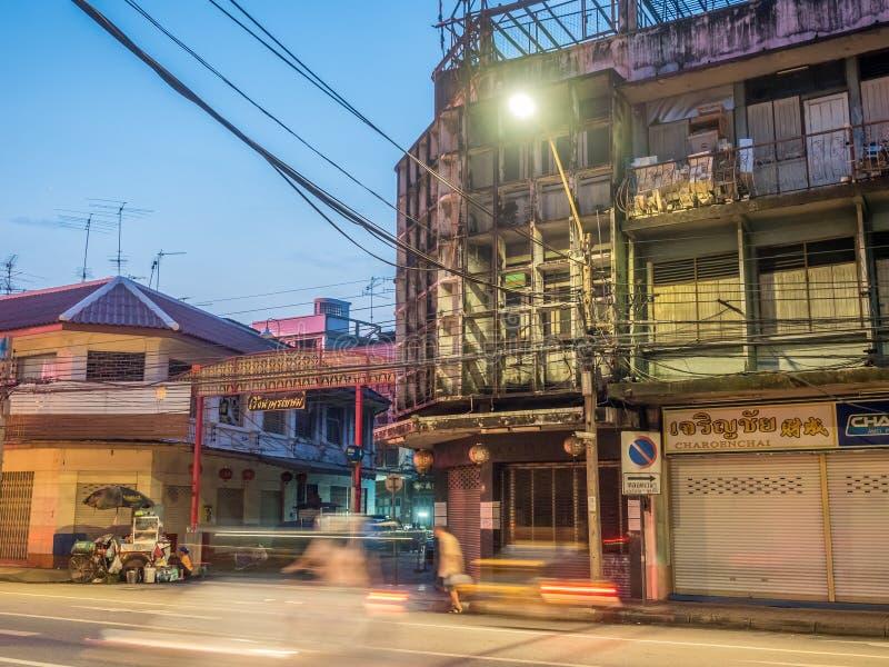 Woeng Nakorn Kasem onder schemeringtijd royalty-vrije stock foto