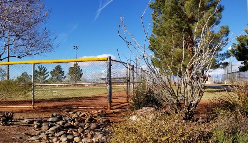 Woestijn in het park royalty-vrije stock afbeelding