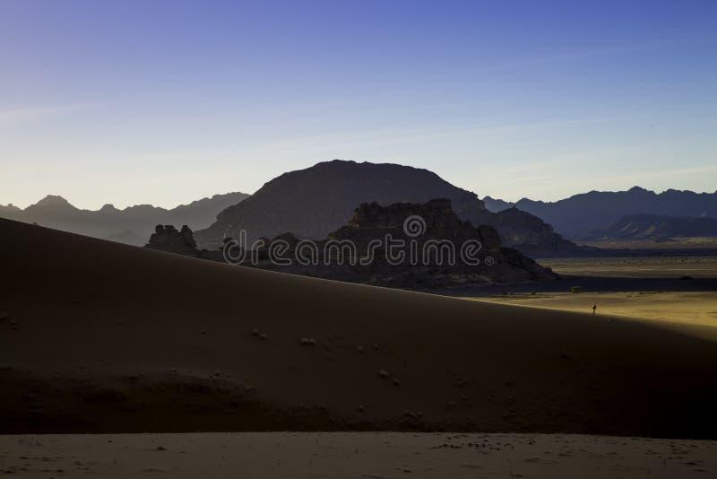 Woestijn Libië stock foto's