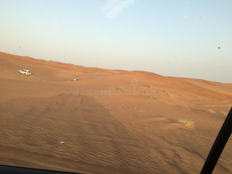 Woestijn Safari View stock afbeelding