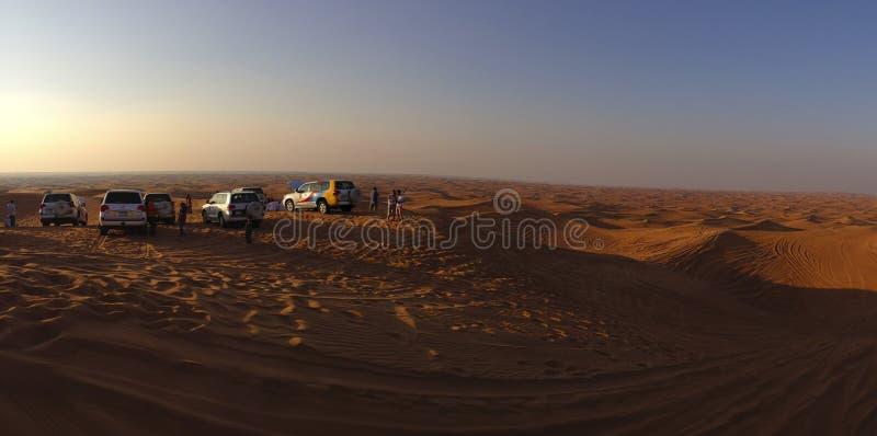 Woestijn Safary in Doubai, de V.A.E royalty-vrije stock foto