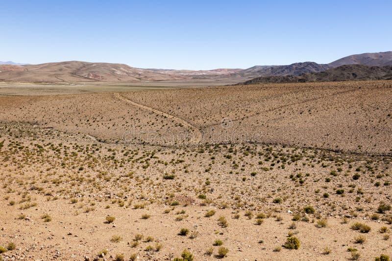 Download Woestijn Toneel stock afbeelding. Afbeelding bestaande uit land - 39108337