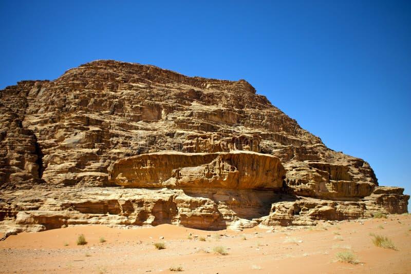 Woestijn van de Rum van de Wadi royalty-vrije stock afbeeldingen