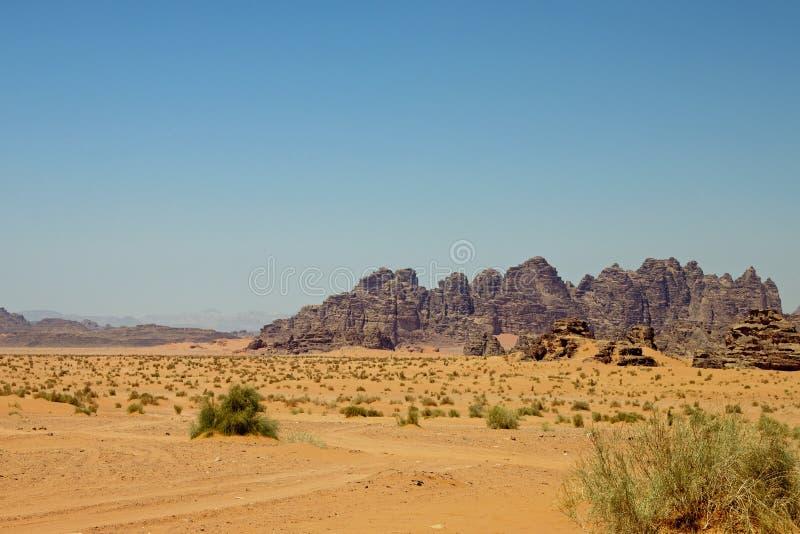 Woestijn van de Rum van de Wadi royalty-vrije stock foto