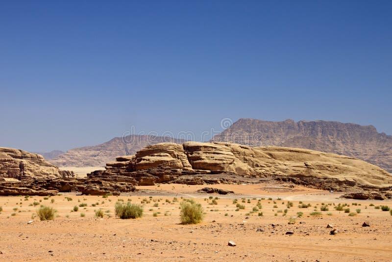 Woestijn van de Rum van de Wadi stock afbeelding