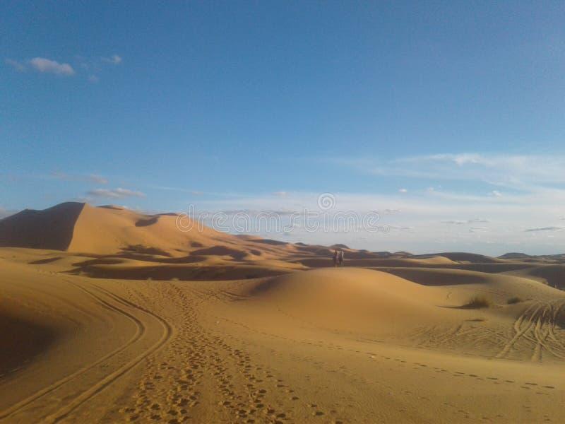 woestijn van Marokko stock afbeelding