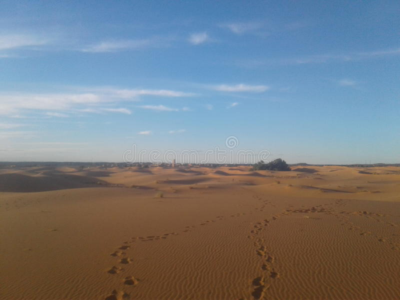 woestijn van Marokko stock foto