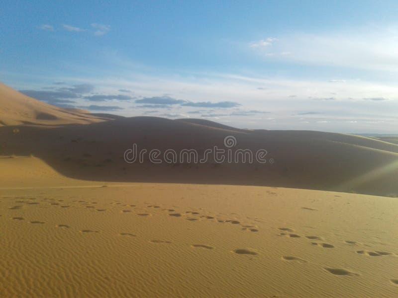 woestijn van Marokko stock foto's
