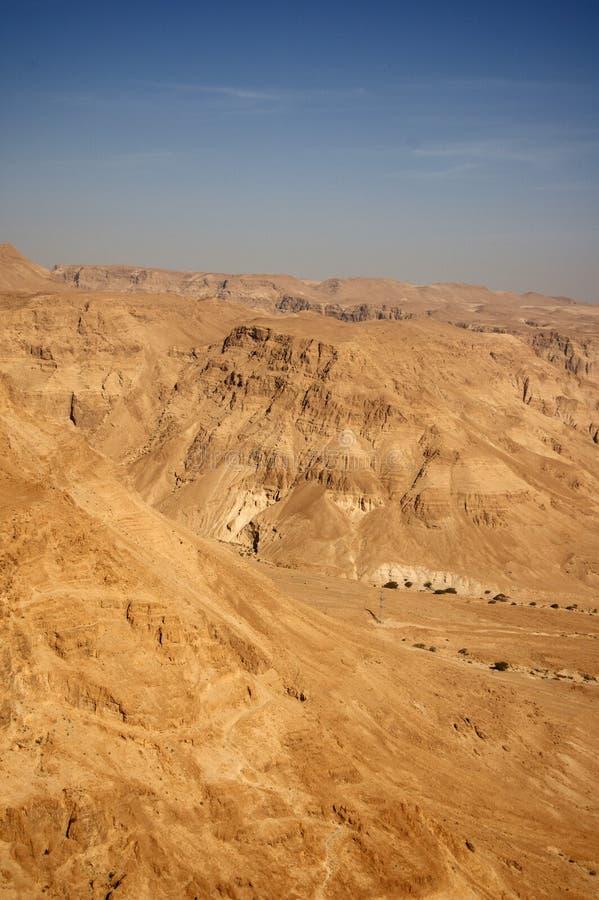 Woestijnbergen royalty-vrije stock foto's