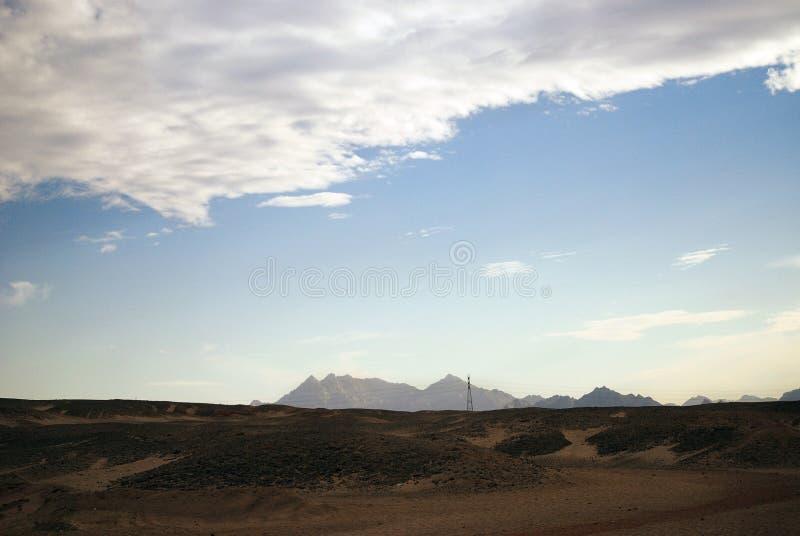Woestijnblauw royalty-vrije stock afbeeldingen