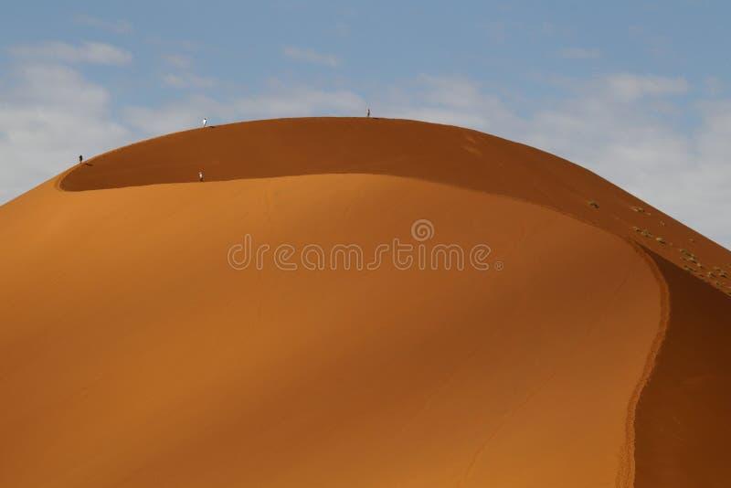 Woestijnlandschap, Sossusvlei, Namibië stock afbeelding