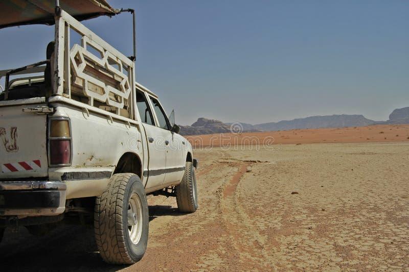 Woestijnreis stock afbeelding