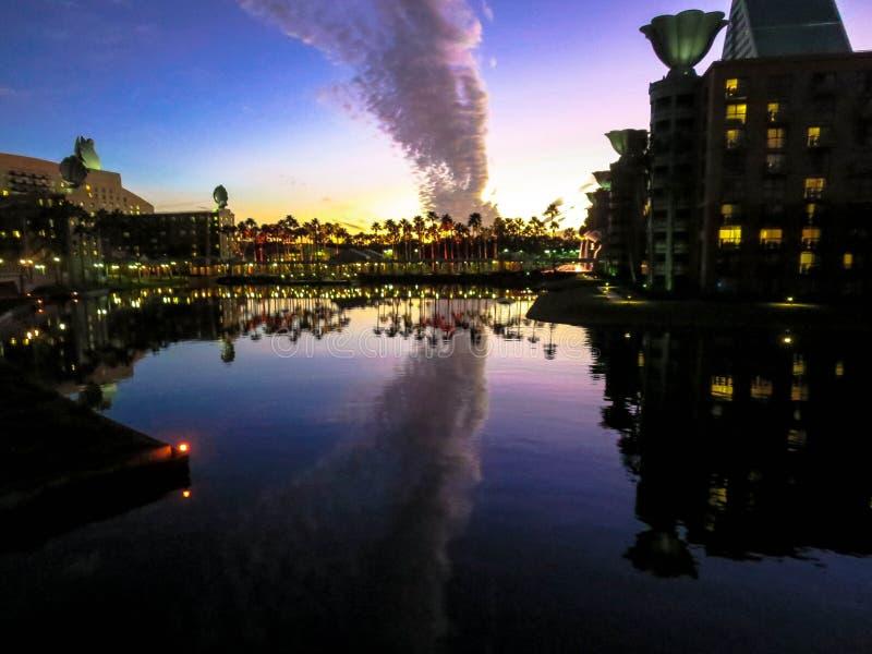 Woge von Wolken lizenzfreies stockbild