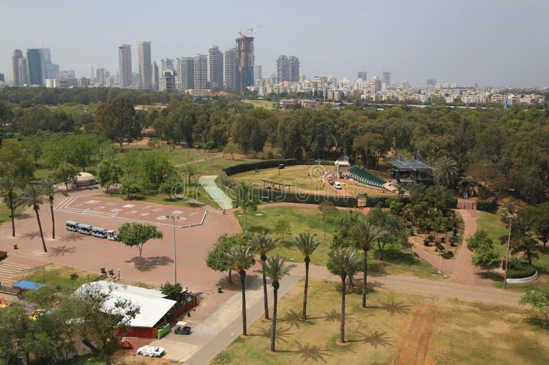Wohl amfiteatr w Yarkon parku, Tel Aviv obrazy royalty free
