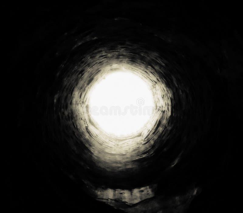Wohles Loch, Todeskonzept lizenzfreie stockfotografie