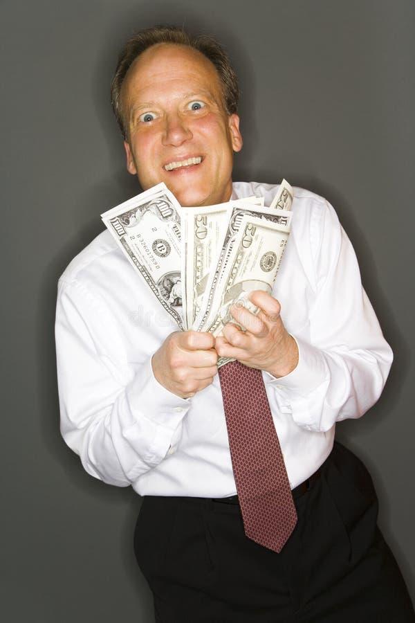 Wohlhabender Geschäftsmann stockfoto