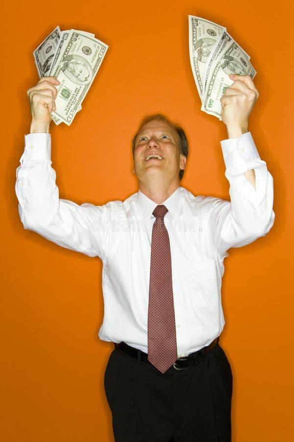 Wohlhabender Unternehmensleiter stockfotografie