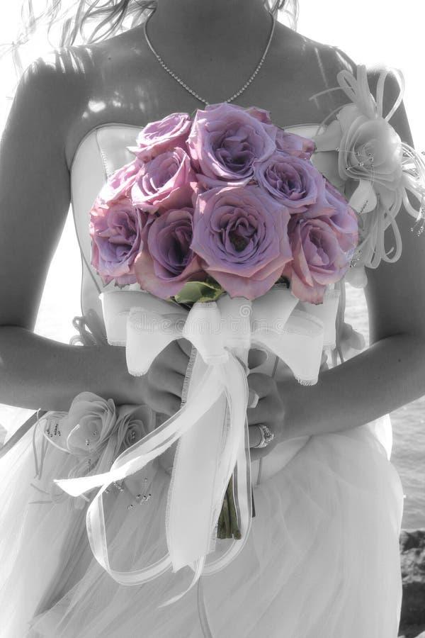 Wohlriechender Blumenstrauß lizenzfreies stockbild