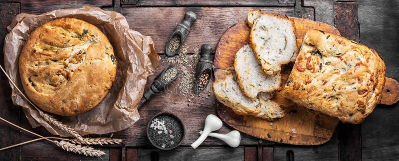 Wohlriechendes gebackenes Brot stockfotografie