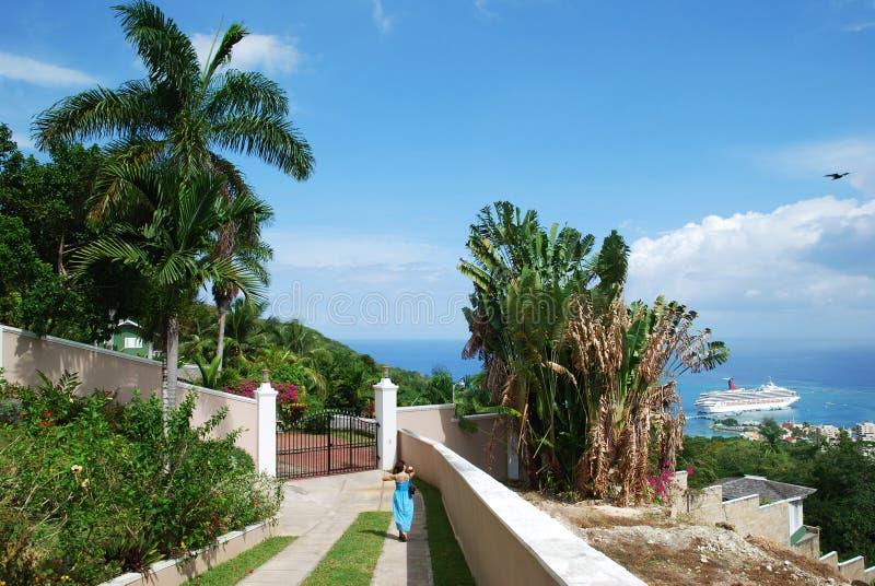 Wohnen in Jamaika lizenzfreie stockfotos