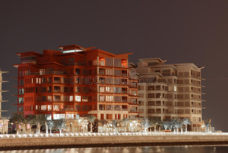 Wohngebäude in Manama, Bahrain lizenzfreies stockfoto