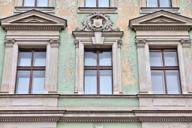 Wohngebäude in Wien lizenzfreies stockbild