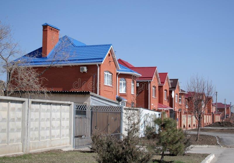 Wohngebiet stockbild
