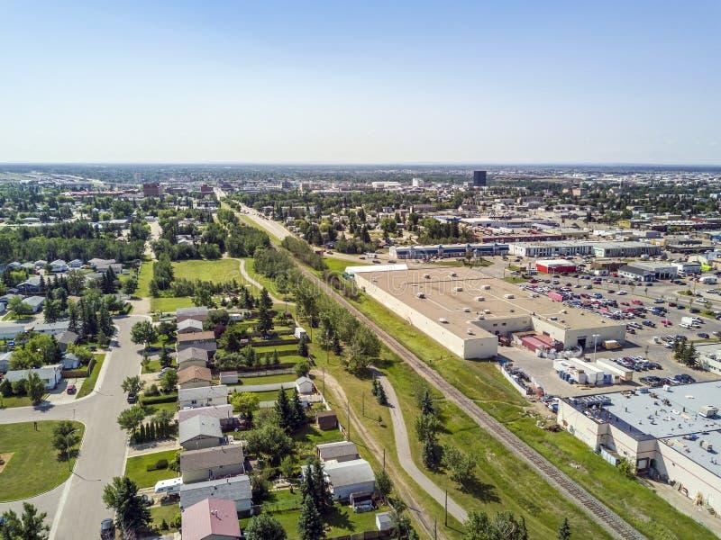 Wohngebiet des großen Graslands, Alberta, Kanada lizenzfreie stockbilder