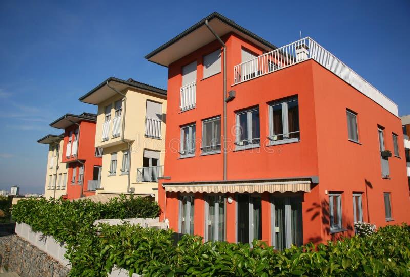 Wohnhäuser stockbilder