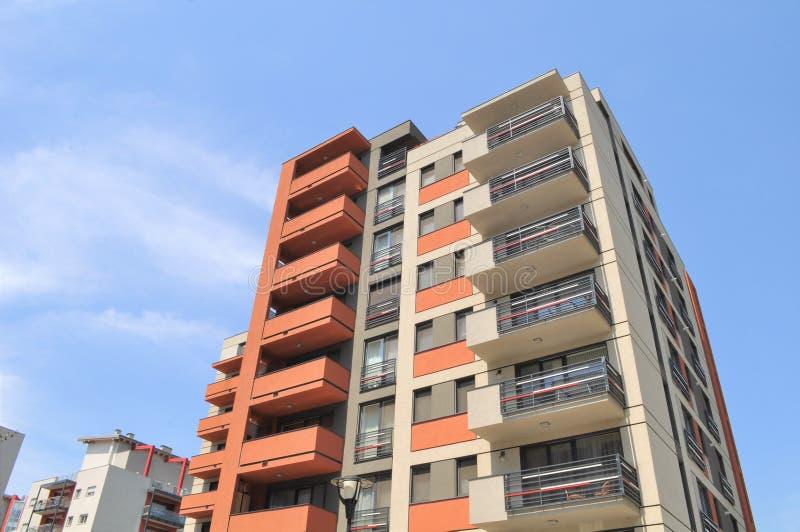 Wohnkomplex lizenzfreie stockfotografie