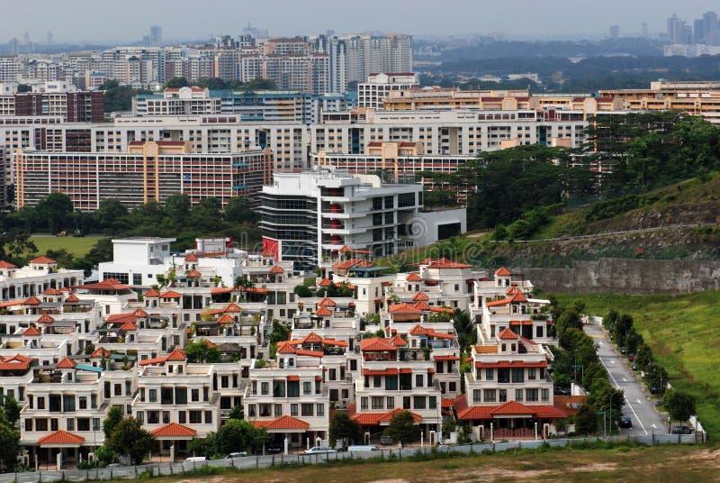 Wohnsiedlung stockbild