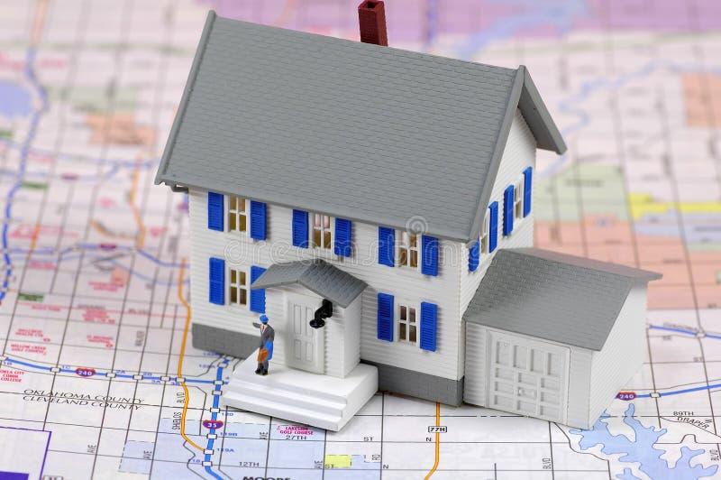 Wohnsitz lizenzfreies stockbild