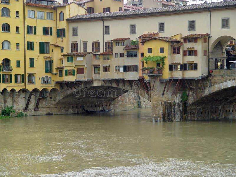 Wohnsitz an der Brücke lizenzfreies stockfoto