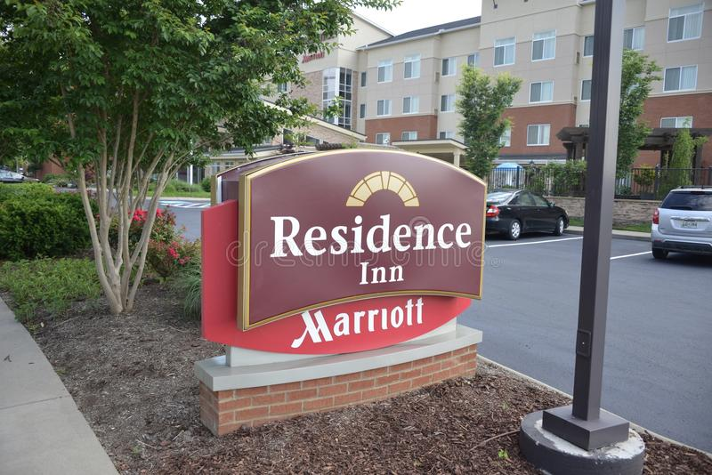 Wohnsitz-Gasthaus durch Marriot, Murfreesboro, TN stockbild