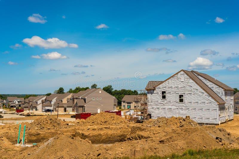 Wohnungsbau lizenzfreie stockfotos