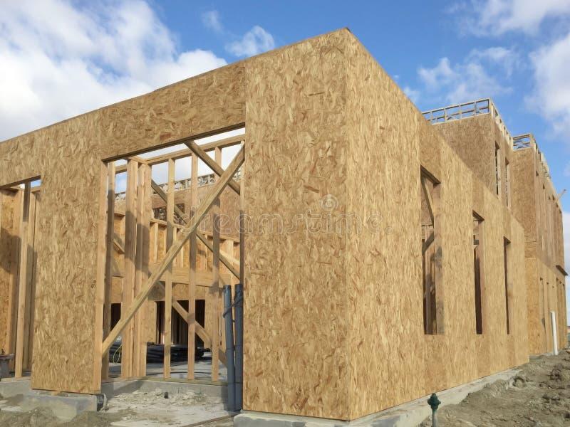 Wohnungsbau in der Gemeinschaft stockfoto