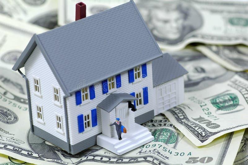 Wohnungsbaudarlehen lizenzfreie stockbilder