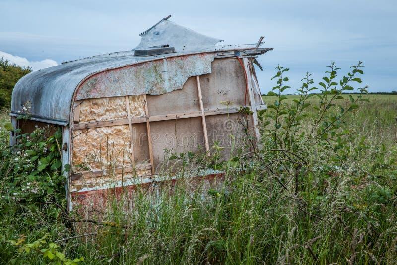 wohnwagen stockfoto