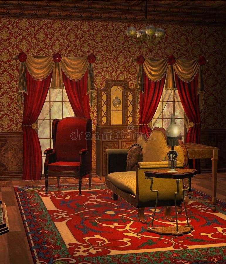 Wohnzimmer 1 stock abbildung
