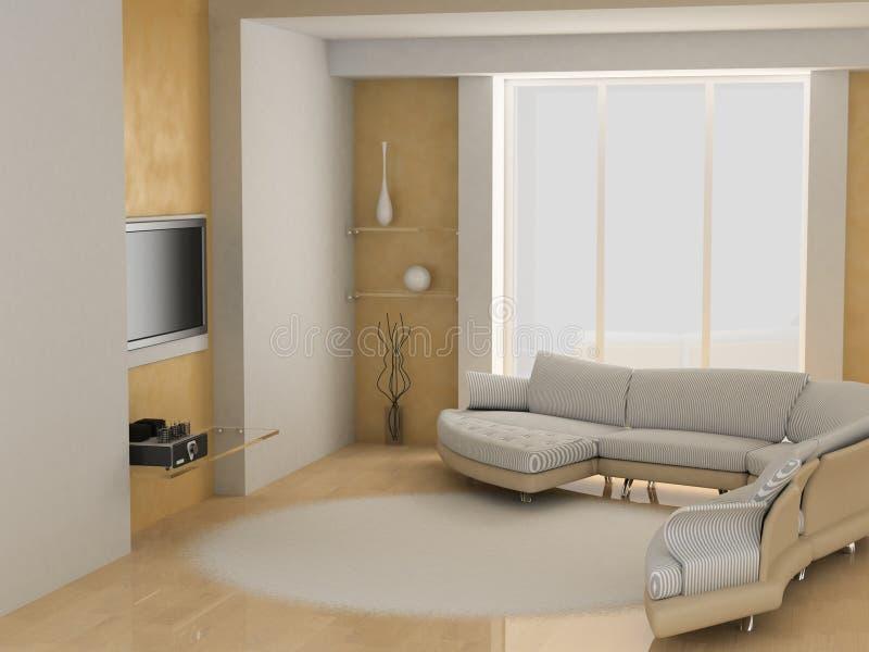 Wohnzimmer vektor abbildung