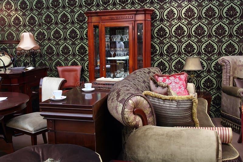Englisches Wohnzimmer wohnzimmer stockfoto bild funktion büro stilvoll 8383830