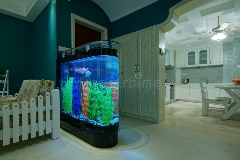 Wohnzimmer-Aquarium stockbild. Bild von hallway, halle - 28124953