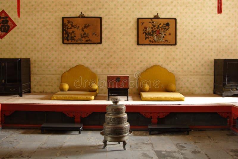 Wohnzimmer des Kaisers stockfotografie