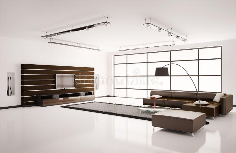 Wohnzimmer Innen3d vektor abbildung