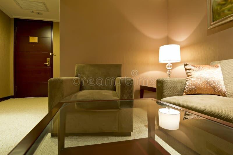 Wohnzimmerinnenraum lizenzfreie stockbilder